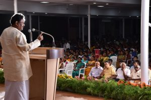 Chief Guest Speech in Inauguration